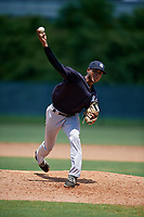 GCL Yankees East pitcher Adonny Rojas (34) during a Gulf Coast League game against the GCL Phillies West on August 3, 2019 at the Carpenter Complex in Clearwater, Florida.  The GCL Yankees East defeated the GCL Phillies West 4-0, the second game of a doubleheader.  (Mike Janes/Four Seam Images)