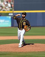 Javy Guerra - San Diego Padres 2020 spring training (Bill Mitchell)