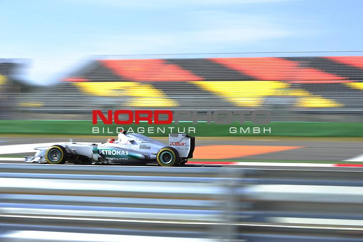11.-14.10.2011, Korea-International-Circuit, Yeongam, KOR, F1, Gro&szlig;er Preis von S&uuml;dkorea, Yeongam, im Bild Michael Schumacher (GER), Mercedes GP <br />  Foto &copy; nph / Mathis