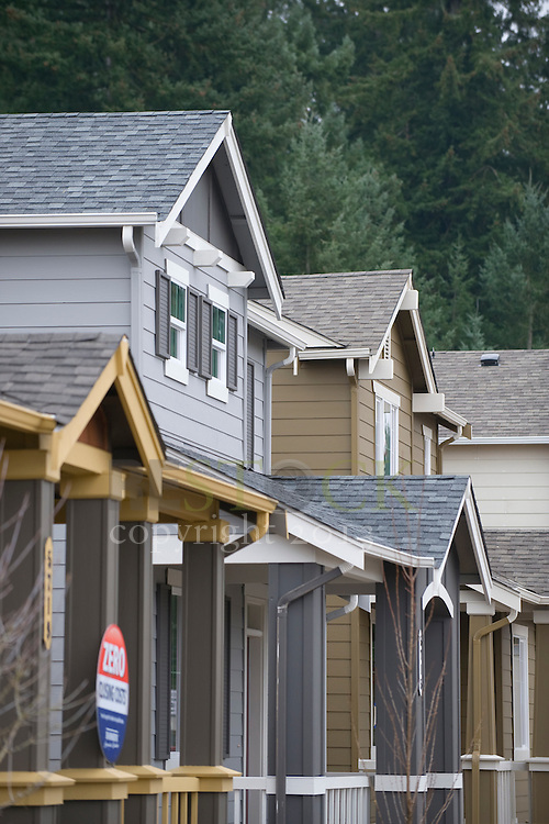 Row of New Homes
