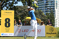 Nino Bertasio (ITA) in action on the 8th during Round 3 of the Maybank Championship at the Saujana Golf and Country Club in Kuala Lumpur on Saturday 3rd February 2018.<br /> Picture:  Thos Caffrey / www.golffile.ie<br /> <br /> All photo usage must carry mandatory copyright credit (© Golffile | Thos Caffrey)