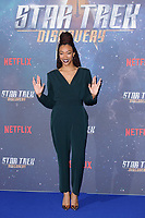 Sonequa Martin-Green at the special fan screening for &quot;Star Trek Discovery&quot; at Millbank Tower, London, UK. <br /> 05 November  2017<br /> Picture: Steve Vas/Featureflash/SilverHub 0208 004 5359 sales@silverhubmedia.com