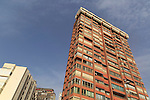 High rise apartment buildings, Benidorm, Alicante province, Spain