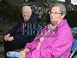 Sr Agnes Byrne and Oliver Rice at the mass for the Domicians at Magadelene Tower. Photo:Colin Bell/pressphotos.ie