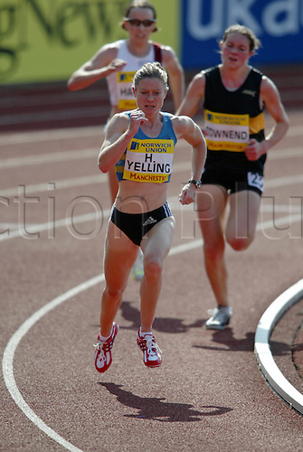 10 July 2005: Hayley Yelling on her her way to victory in the Final of the Womens 5000m at the Norwich Union World & Commonwealth Trials & AAA Champs, Manchester Regional Arena, Manchester. Photo: Glyn Kirk/actionplus...050710 running woman women
