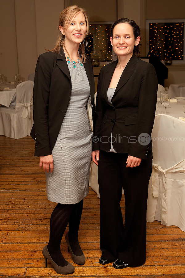 NO REPRO FEE. 23/11/2010. ICCL annual fundraising dinner. Pictured at Fallon and Byrnes, Dublin for the ICCL's fundraising dinner for legal practitioners were Karen Ciesielski . Picture James Horan/Collins Photos