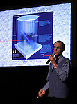 LEAD, SD - MAY 30:  Physicist Dr. Boris Kayser of Fermi National Accelerator Laboratory near Chicago presented his lecture Neutrinos