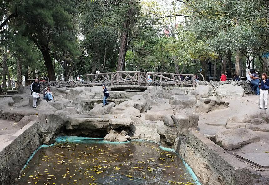 Man made nature, Parque Mexico, Condesa, Mexico City