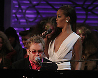 Rihanna Elton John 2006<br /> Photo By John Barrett-PHOTOlink.net