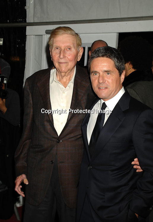 "Sumner Redstone and Brad Grey ..arriving at The World Premier of ""Dreamgirls"" on ..December 4, 2006 at The Ziegfeld Theatre in New York, ..Roibn Platzer, Twin Images"
