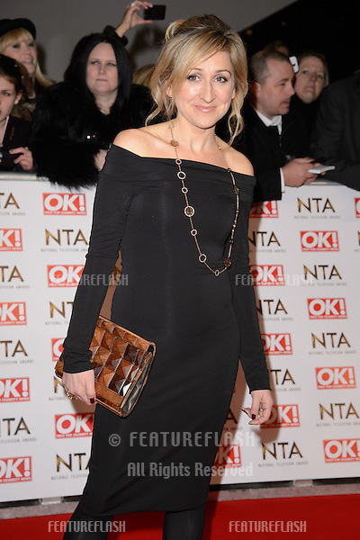 Charlotte Bellamy arrives for the National TV Awards 2015 at the O2 Arena, Greenwich London. 21/01/2015 Picture by: Steve Vas / Featureflash