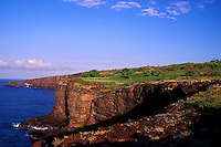 The cliffs of Manele hole number 12 designed by Jack Nicklaus