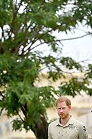 Prince Harry Visits Diana Tree in Huambo Angola