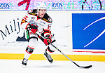 Stockholm 2014-10-14 Ishockey Hockeyallsvenskan AIK - Malm&ouml; Redhawks :  <br /> Malm&ouml; Redhawks Jeremias Augustin i aktion <br /> (Foto: Kenta J&ouml;nsson) Nyckelord:  AIK Gnaget Hockeyallsvenskan Allsvenskan Hovet Johanneshov Isstadion Malm&ouml; Redhawks portr&auml;tt portrait