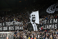 Newcastle United manager Rafa Benitez banners in the crowd ahead of kick off<br /> <br /> Photographer Rich Linley/CameraSport<br /> <br /> The Premier League -  Newcastle United v Liverpool - Sunday 1st October 2017 - St James' Park - Newcastle<br /> <br /> World Copyright &copy; 2017 CameraSport. All rights reserved. 43 Linden Ave. Countesthorpe. Leicester. England. LE8 5PG - Tel: +44 (0) 116 277 4147 - admin@camerasport.com - www.camerasport.com