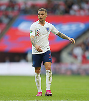 England's Kieran Trippier<br /> <br /> Photographer Rob Newell/CameraSport<br /> <br /> UEFA European Championship Qualifying Group A - England v Bulgaria - Saturday 7th September 2019 - Wembley Stadium - London<br /> <br /> World Copyright © 2019 CameraSport. All rights reserved. 43 Linden Ave. Countesthorpe. Leicester. England. LE8 5PG - Tel: +44 (0) 116 277 4147 - admin@camerasport.com - www.camerasport.com