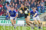 Eoin Brosnan Dr Crokes in action against Kieran O'Mahony Kerins O'Rahillys in the Semi Finals of the Senior County Football Championship at Austin Stack Park on Sunday.