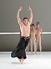 Dutch National Ballet <br /> Hans Van Manen - Master of Dance<br /> Grosse Fuge<br /> rehearsal / photocall<br /> 12th May 2011<br /> at Sadler's Wells. London, Great Britain <br /> <br /> Alexander Zhembrovskyy<br /> <br /> Photograph by Elliott Franks