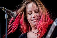 L7 paa Pandaemonium. Warmup day. Copenhell 2018 p&aring; Refshale&oslash;en i K&oslash;benhavn. Fire dage med rock, metal og dedikerede fans.<br /> <br /> Copenhell 2018 on Refshale Island in Copenhagen. Four days of rock, metal and dedicated fans.<br /> <br /> Foto: Jens Panduro<br /> <br /> Copenhagen, Copenhell, musikfestival, festival, musik, rockmusik, metal, hardcore, thrashmetal, punk, punkrock, metalcore, Refshale&oslash;en, Reffen, koncerter, rockkoncerter., Music Festival, Music, Rock Music, Thrash Metal, Refshale Island, Concerts, Rock Concerts.