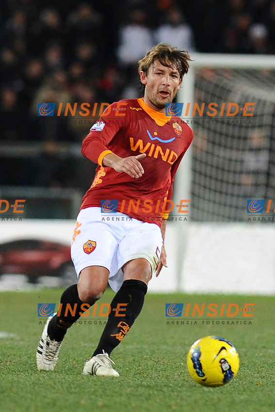 Gabriel Heinze Roma.Roma, 11/01/2012 Stadio Olimpico.Football Calcio 2011/2012 Coppa Italia..Roma vs Fiorentina 3-0.Foto Insidefoto Antonietta Baldassarre