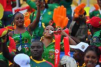 Tifosi Camerun <br /> Libreville ( Gabon ) 5-02-2017 Coppa Africa 2017 <br /> Finale <br /> Camerun -  Egitto <br /> Foto Boubacar / Panoramic / Insidefoto