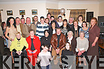 SILVER ANNIVERSARY: Kathleen and Pat O'Donoghue, Glenflesk (seated centre) celebrated their 25th wedding anniversary with their family and friends in the Kerry Way Inn, Glenflesk, on Friday night.   Copyright Kerry's Eye 2008