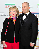 Florence Henderson and her son, Robert Bernstein, arrive for the formal Artist's Dinner honoring the recipients of the 2011 Kennedy Center Honors hosted by United States Secretary of State Hillary Rodham Clinton at the U.S. Department of State in Washington, D.C. on Saturday, December 3, 2011. The 2011 honorees are actress Meryl Streep, singer Neil Diamond, actress Barbara Cook, musician Yo-Yo Ma, and musician Sonny Rollins..Credit: Ron Sachs / CNP