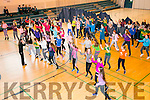 Mercy Mounthawk Culture Week as part of YSI project - Zumba dance classes in School gym on Monday