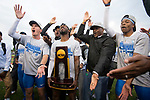 EUGENE, OR - JUNE 09: The University of Florida celebrates their team victory during the Division I Men's Outdoor Track & Field Championship held at Hayward Field on June 9, 2017 in Eugene, Oregon. (Photo by Jamie Schwaberow/NCAA Photos via Getty Images)