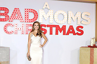 "LOS ANGELES - OCT 30:  Chrishell Stause at the ""A Bad Moms Christmas"" Premiere at the Village Theater on October 30, 2017 in Westwood, CA"