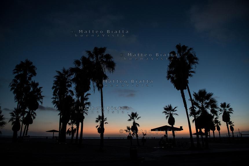 Los Angeles nella foto Venice Beach geografico Los Angeles 11/10/2017 foto Matteo Biatta Los Angeles in the picture Venice Beach geographic Los Angeles 11/10/2017 photo by Matteo Biatta