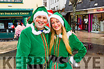 Alan Teahan and Janna Foley, pictured at the Tralee Christmas Parade on Saturday last.
