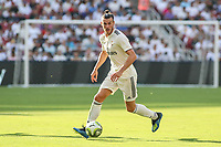 Landover, MD - August 4, 2018: Real Madrid forward Gareth Bale (11) looks to pass the ball during the match between Juventus and Real Madrid at FedEx Field in Landover, MD.   (Photo by Elliott Brown/Media Images International)