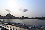 General view, <br /> SEPTEMBER 15, 2016 - Canoe : <br /> Women's Canoe Sprint KL1 Final <br /> at Lagoa Stadium<br /> during the Rio 2016 Paralympic Games in Rio de Janeiro, Brazil.<br /> (Photo by AFLO SPORT)