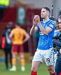 15.12.2019 Motherwell v Rangers: Nikola Katic