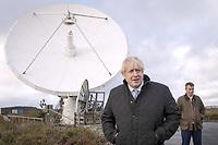Boris Johnson Visits Goonhilly Earth Station