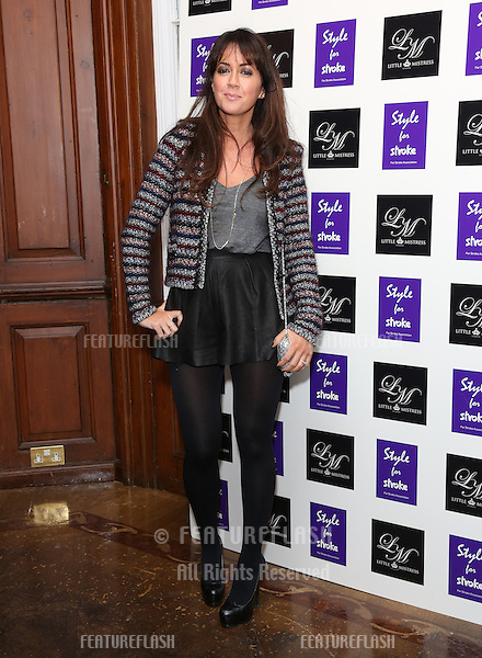 Sheree Murphy arriving for the Style for Stroke Party, 5 Cavendish Square, London. 02/10/2012 Picture by: Henry Harris  / Featureflash