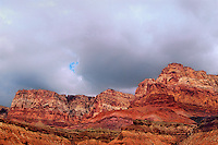 714900002 cloud formations form over the vermillion cliffs in northern arizona