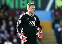 David Stockdale of Birmingham City <br /> <br /> Photographer Leila Coker/CameraSport<br /> <br /> The EFL Sky Bet Championship - Aston Villa v Birmingham City - Sunday 11th February 2018 - Villa Park - Birmingham<br /> <br /> World Copyright &copy; 2018 CameraSport. All rights reserved. 43 Linden Ave. Countesthorpe. Leicester. England. LE8 5PG - Tel: +44 (0) 116 277 4147 - admin@camerasport.com - www.camerasport.com