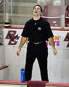 Justin Murphy (Boston College Senior Manager) - The University of Notre Dame Fighting Irish defeated the Boston College Eagles 4-1 on Friday, November 7, 2008, at Conte Forum in Chestnut Hill, Massachusetts.