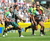 Aviva Premiership Final .Twickenham, England. Alesana Tuilagi of Leicester Tigers during the AVIVA Premiership Final between Harlequins and Leicester Tigers at Twickenham Stadium on May 26, 2012 in London, United Kingdom.