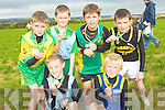 MEDALS: Athletes who won gold, sliver and bronze medals in the 200 metres at the Cross Country in Ardfert on Sunday