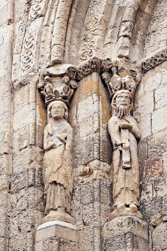 San Esteban Church detail, Segovia, Spain
