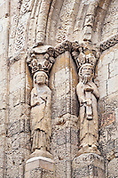San Esteban Church detail, Segovia, Spain