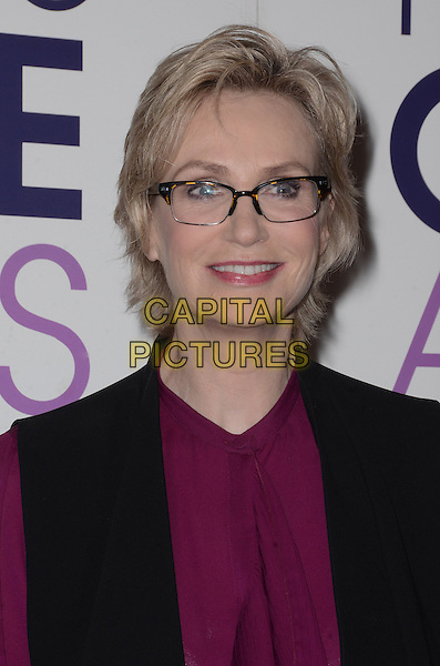 03 November - Beverly Hills, Ca - Jane Lynch. People's Choice Awards 2016 Nomination Press Conference held at The Paley Center for Media. <br /> CAP/ADM/BT<br /> &copy;BT/ADM/Capital Pictures