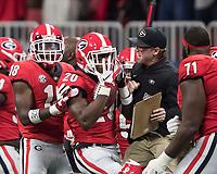 Georgia Bulldogs vs Alabama Crimson Tide, December 1, 2018