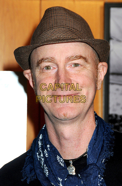 "CRAIG RICHEY.Attending ""Wonderful World"" Los Angeles Premiere held at the Director's Guild Theatre, West Hollywood, California, USA, 7th January 2010..portrait headshot hat brown tweed plaid .CAP/ADM/BP.©Byron Purvis/AdMedia/Capital Pictures."