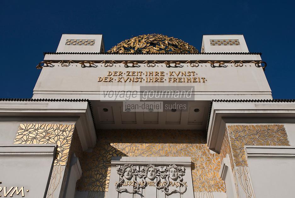Europe/Autriche/Niederösterreich/Vienne: Pavillon de la Sécession - Jugendstill