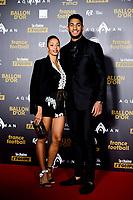 Estelle Mossely et Tony Yoka<br /> Parigi 3-12-2018 <br /> Arrivi Cerimonia di premiazione Pallone d'Oro 2018 <br /> Foto JB Autissier/Panoramic/Insidefoto <br /> ITALY ONLY