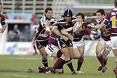 Luke Mealamu during the Air NZ Cup game between the Counties Manukau Steelers and Southland played at Mt Smart Stadium on 3rd September 2006. Counties Manukau won 29 - 8.
